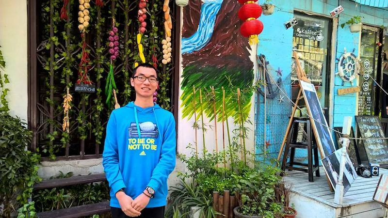 Chinese Student Sky Ma Embraces Change in Tauranga